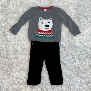 Carter's Baby Boy Polar Bear Outfit